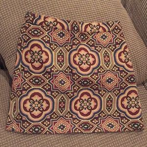 Topshop tapestry skirt